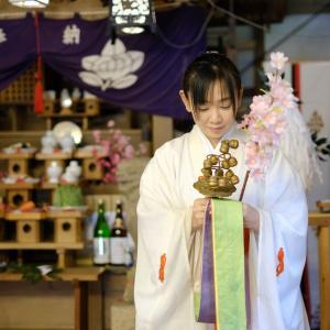 吉川八幡神社 春大祭(鎮花祭)