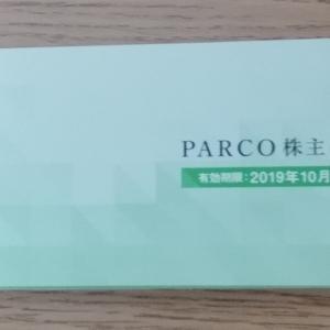 【株主優待券転売利回りブログ記事】パルコ:PARCO年間4000円分割引券+大丸年間4000円分券+株主優待版PARCOカード申込用紙【執筆:2019年7月時点】