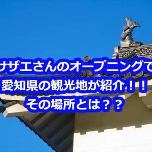 サザエさんのオープニングの愛知県verで見る子連れ観光地を紹介