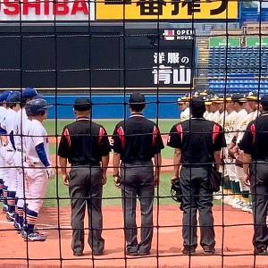 駒澤大学 vs 専修大学[東都リーグ 入替戦 1回戦]