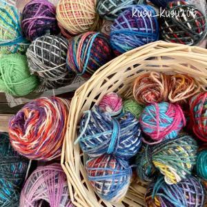 【編みかけ】4/100 きまぐれな靴下を編みたい! その1