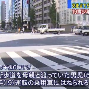 台東区浅草橋で5歳児が車にはねられた交差点の場所はどこ?原因についても調査!