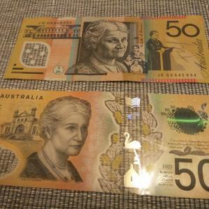 新50ドル札のスペリングエラーを探してみた