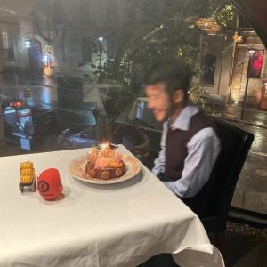 誕生日だった