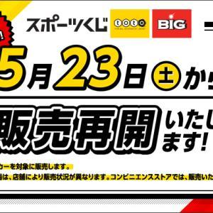 最大12億円!サッカーくじ「toto」の販売が再開するらしい。こんなときこそtotoでスポーツ界を応援しよう!