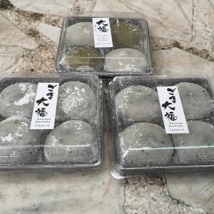 バンコクで和菓子を差し入れ  大福 • どら焼き