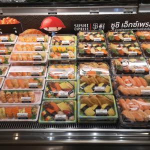 寿司の差し入れ タイ人と一緒にワイワイ ガヤガヤ