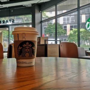 Starbucks で一休み BTS プラカノン 駅下