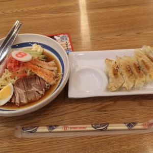 8番らーめん 北陸発祥 冷やし中華(冷麺)と餃子