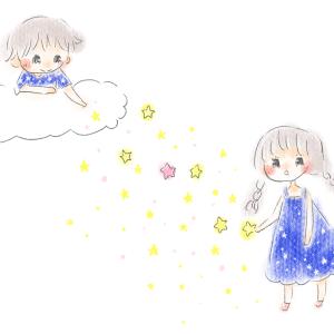 絵日記◇七夕までのこの流れ