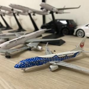 ディアゴスティーニのJAL旅客機コレクションを買ってみた(ジンベエジェット)