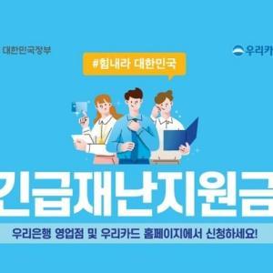 韓国の政府緊急災難支援金