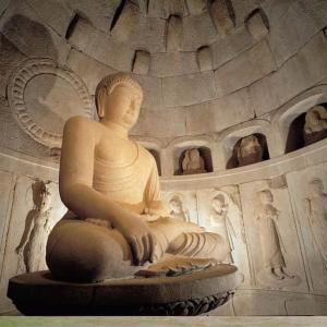 仏国寺(プルグッサ) 吐含山(トハムサン)の日の出