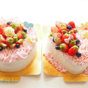 最近作らせて頂いたお祝ケーキ
