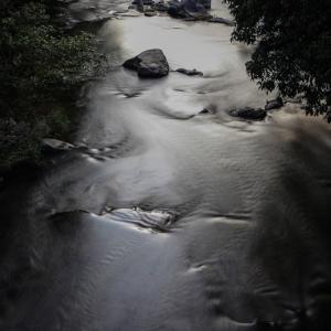 475歩 銀色に輝く川面に 編