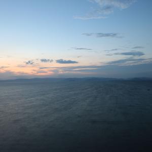 34歩 雄大な琵琶湖を 編