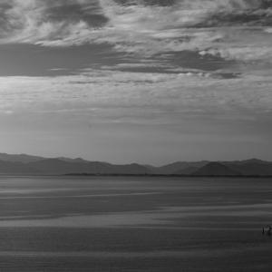 35歩 朝の琵琶湖を眺める 編