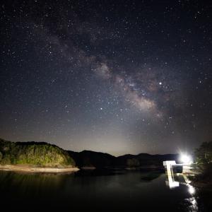 39歩 黒田貯水池の天の川 編
