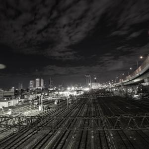 40歩 超広角レンズで観る夜の街 編