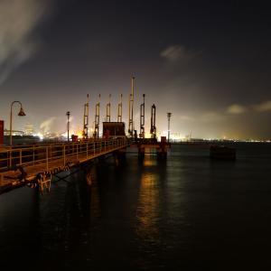 86歩 桟橋とその先の景色 編