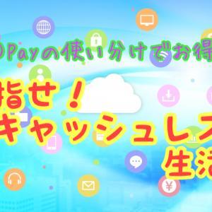 ○○Payの使い分けでお得に!目指せキャッシュレス生活!【2019.7】