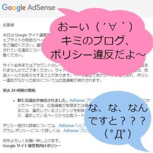 【アダルトコンテンツ疑惑】Googleがキャンプブログに警告メール?!