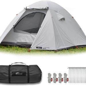 【FIELDOOR】1万円以下のファミリー用テント【フィールドキャンプドーム200】