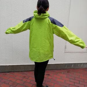 【ワークマン】梅雨時期に税込1900円 レインジャケット ストロング R-005はコスパ最強!