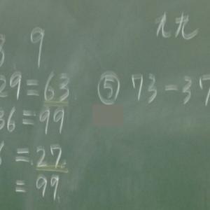 今日の授業 「算数の授業開きについて」②