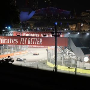 シンガポールのF1グランプリ seeing the singapore F1 grand prix