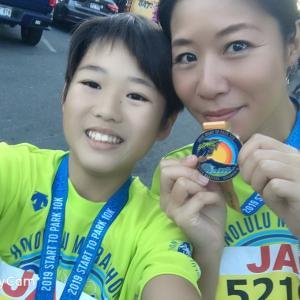 ホノルルマラソン10km完走+2km