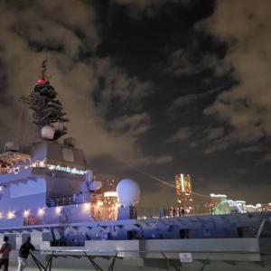 護衛艦いずもが大さん橋に!艦艇を一般公開