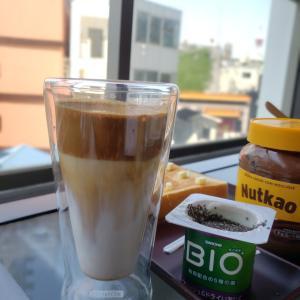 話題のタルゴナコーヒー作ってみました