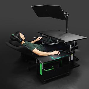 DIYで「寝ながらPC環境」作りたいんやがアドバイスくれ!