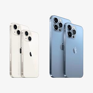 携帯4社から発売されるiPhone 13シリーズ、全てSIMロックなし ←もうApple Storeで買えばいいよね