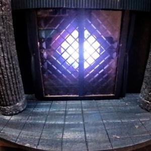 ☆ カリオストロの城~ルパン三世 グンゼ~どろぼうさん 月光LED2台目ジオラマ完成!
