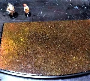 ☆ 紅の豚 ファイン・モールド~1/48 サボイアS21F ピッコロ社工場LEDジオラマ制作