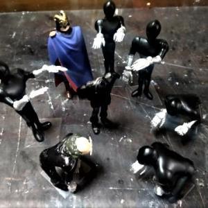 ☆ ルパン三世 カリオストロの城 1/24 カゲ使用~城内部LEDジオラマ制作!