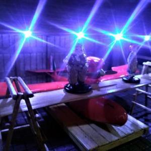 ☆ 紅の豚 1/48 サボイアS21&ピッコロ社LED工場ジオラマ制作#3完成!