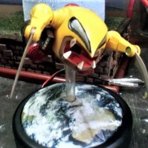 ☆ 機動戦士ガンダム~1/250 旧キット ザクレロ~地球 台座固定!