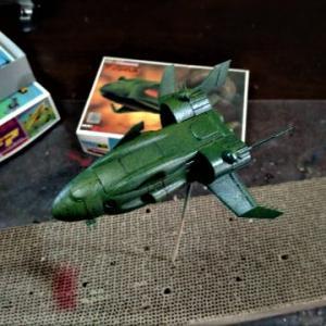 ☆ ジオン軍機動巡洋艦 旧キット 1/2400 ザンジバル制作!