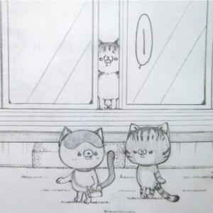 猫さんと、追いかけっこ