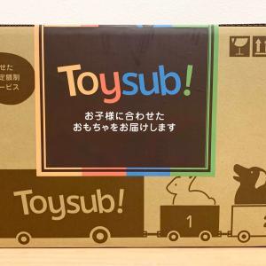 【トイサブ!の感想】生後半年に知育玩具が届いた!良かったところと気になったところ
