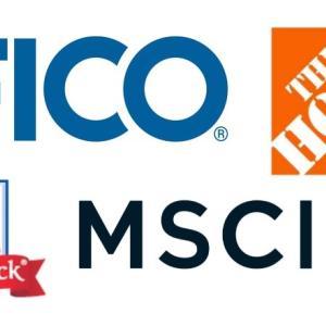 【MKC】【HD】【MSCI】【FICO】マコーミックとホームデポを売却して MSCI と フェアアイザックを新規購入しました