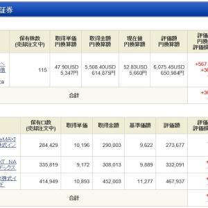 NISA - 19 Week 31(69 週目 : +111,755円)