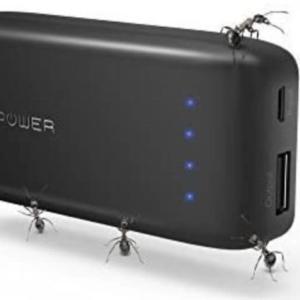 【最小&最軽量】RAVPower RP-PB060モバイルバッテリー レビュー【手のひらサイズ】