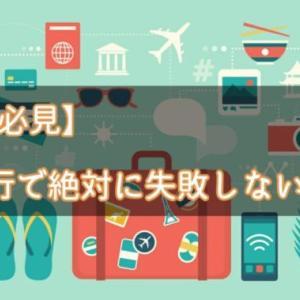 【初心者必見】海外旅行で絶対に失敗しない持ち物【おすすめ15選】
