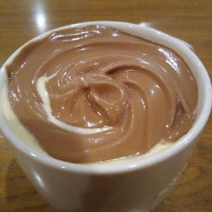チョコレートムースwithラテを飲んできました。