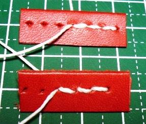 【レザークラフト騒音対策】菱キリを用いた縫い穴のあけ方