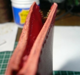 L字ファスナー型小銭入れの作り方 ~紙幣2つ折りバージョン~